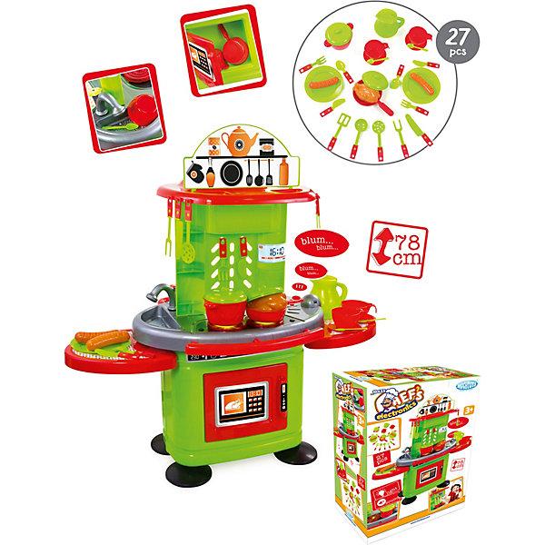 Mochtoys Игровой набор Mochtoys Кухня, со столиком, свет и звук, 27 предметов детская кухня с аксесс свет звук bt543406 1 kari