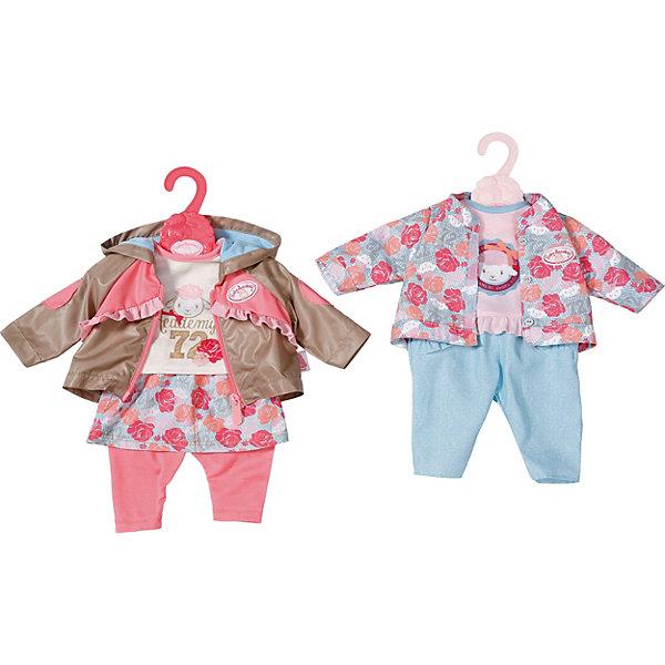 Zapf Creation Одежда для куклы Baby Annabell Комплект прогулки