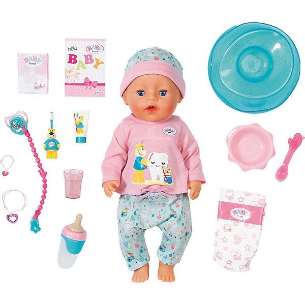 Zapf Creation Интерактивная кукла Zapf Creation Baby Born Чистим зубки, 43 см