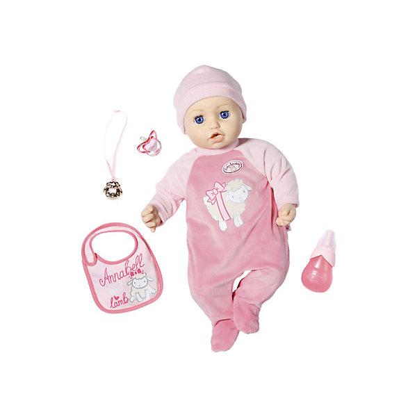 Фото - Zapf Creation Многофункциональная кукла Zapf Creation Baby Annabell, 43 см baby annabell бутылочка для кукол