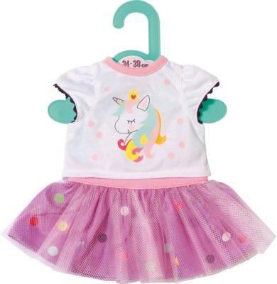 BABY born® Одежда для куклы Zapf Creation Baby Футболка с балетной юбкой