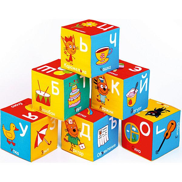 Мякиши Игрушечные кубики Miakishi Три Кота, алфавит
