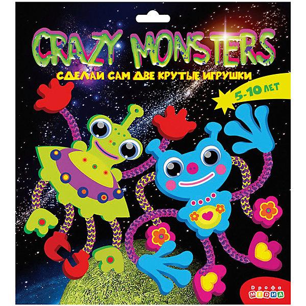 Дрофа-Медиа Набор для творчества CRAZY MONSTERS. Веселый пришелец и забавный монстр