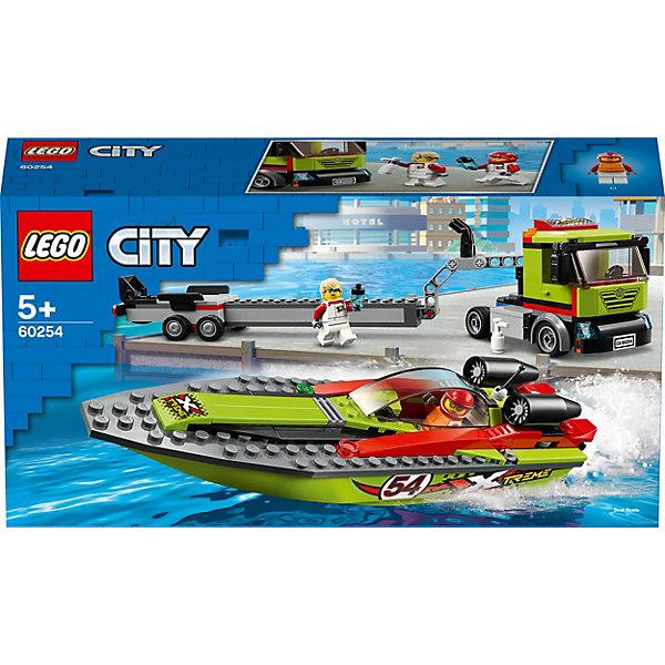 LEGO Конструктор City Great Vehicles 60254: Транспортировщик скоростных катеров