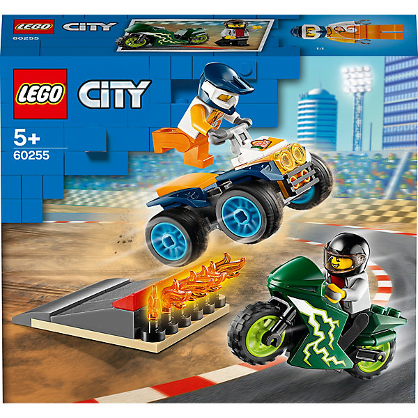 LEGO Конструктор City Turbo Wheels 60255: Команда каскадёров