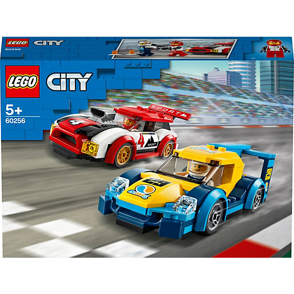 LEGO Конструктор City Turbo Wheels 60256: Гоночные автомобили