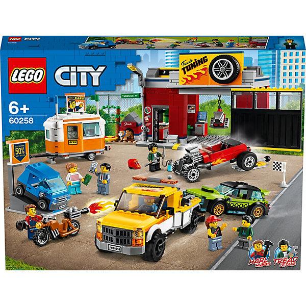 LEGO Конструктор City Turbo Wheels 60258: Тюнинг-мастерская