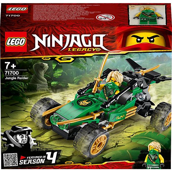 LEGO Конструктор Ninjago 71700: Тропический внедорожник