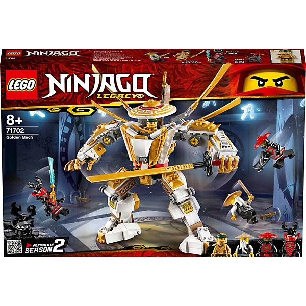 Купить Конструктор LEGO Ninjago 71702: Золотой робот, Чехия, Мужской