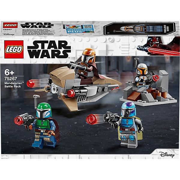 LEGO Конструктор Star Wars 75267: Боевой набор: мандалорцы