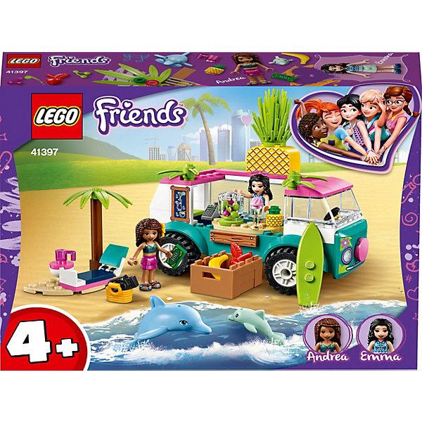 LEGO Конструктор Friends 41397: Фургон-бар для приготовления сока