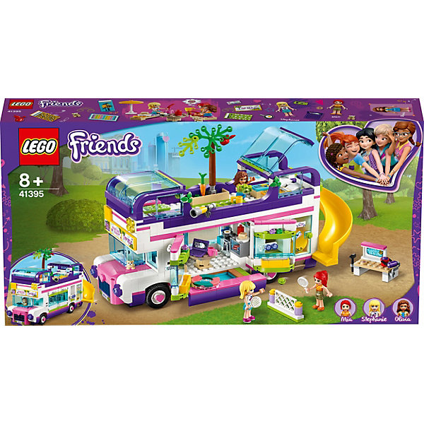 LEGO Конструктор LEGO Friends 41395: Автобус для друзей