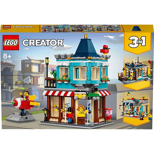 LEGO Конструктор LEGO Creator 31105: Городской магазин игрушек конструктор creator lego lego mp002xb0085u