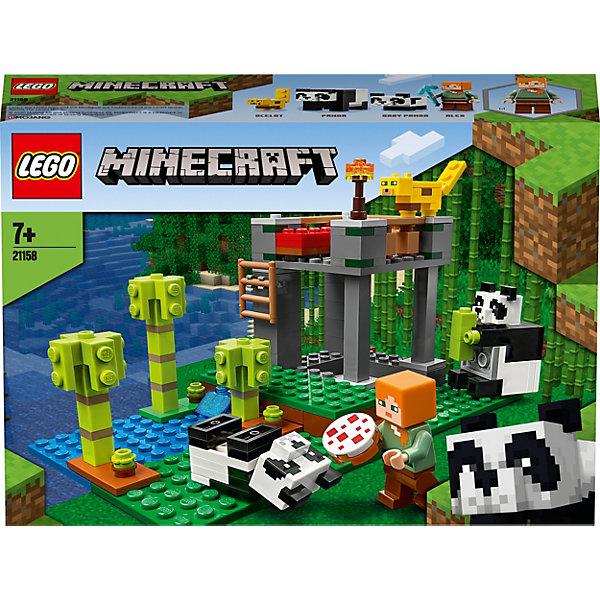 LEGO Конструктор Minecraft 21158: Питомник панд