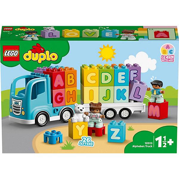 LEGO Конструктор DUPLO My First 10915: Грузовик Алфавит