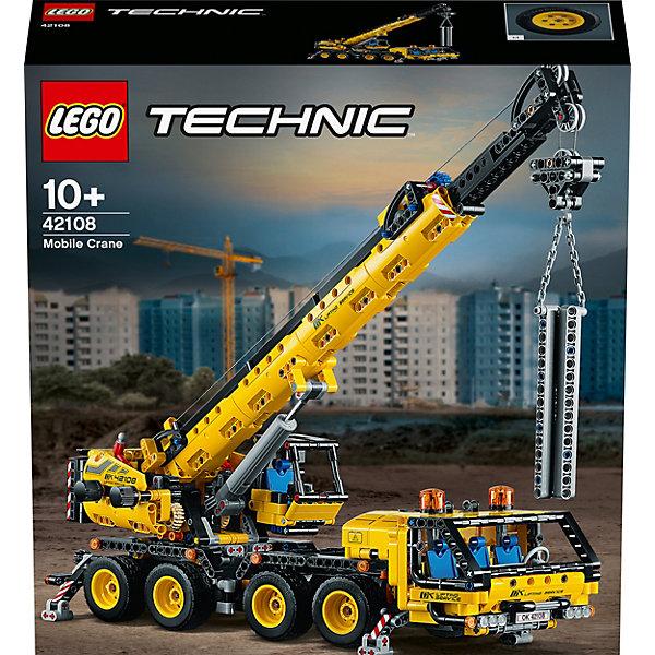 LEGO Конструктор Technic 42108: Мобильный кран