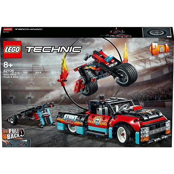 LEGO Конструктор LEGO Technic 42106: Шоу трюков на грузовиках и мотоциклах