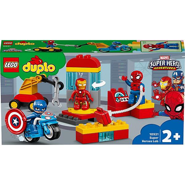 LEGO Конструктор LEGO DUPLO Super Heroes 10921: Лаборатория супергероев цена и фото