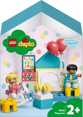 LEGO DUPLO Конструктор LEGO DUPLO Town 10925: Игровая комната lego duplo 10925 конструктор лего дупло игровая комната