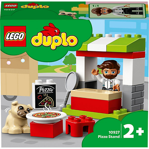 LEGO Конструктор LEGO DUPLO Town 10927: Киоск-пиццерия конструктор lego duplo 10834 пиццерия