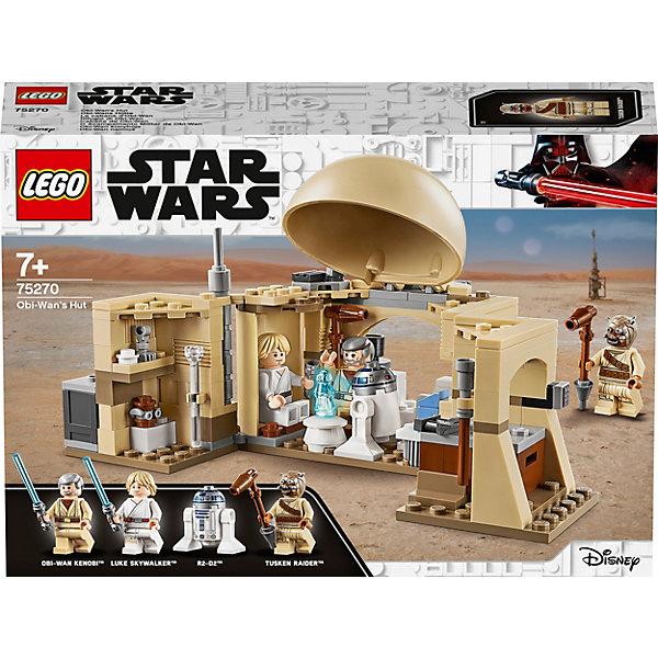 LEGO Конструктор Star Wars 75270: Хижина Оби-Вана Кеноби