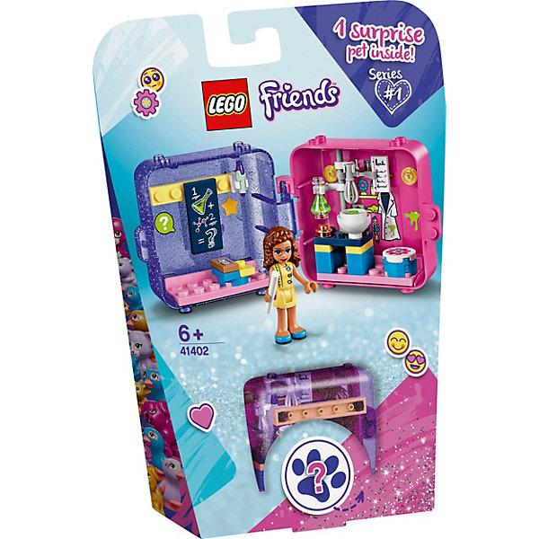 LEGO Конструктор LEGO Friends 41402: Игровая шкатулка Оливии унитаз приставной grossman classik gr pr3012