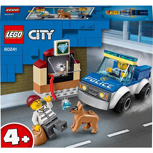 LEGO Конструктор City Police 60241: Полицейский отряд с собакой