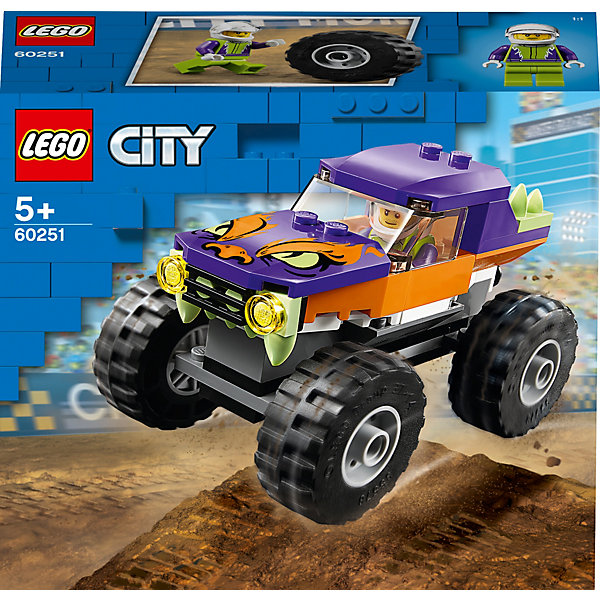LEGO Конструктор City Great Vehicles 60251: Монстр-трак