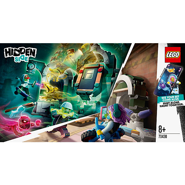 LEGO Конструктор LEGO Hidden Side 70430: Метро Ньюбери