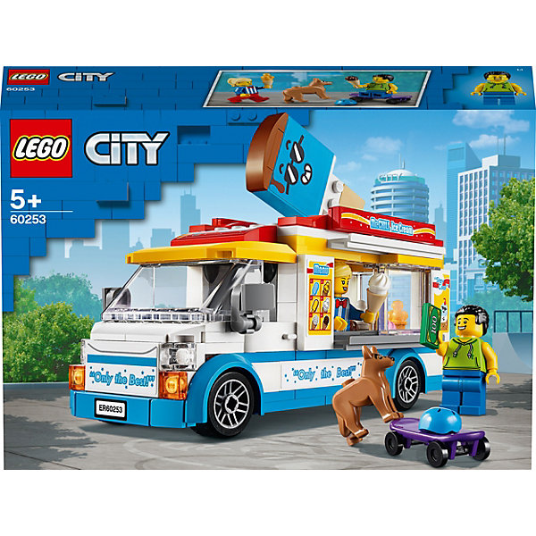 LEGO Конструктор City Great Vehicles 60253: Грузовик мороженщика