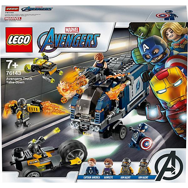 LEGO Конструктор Super Heroes 76143: Мстители: Нападение на грузовик