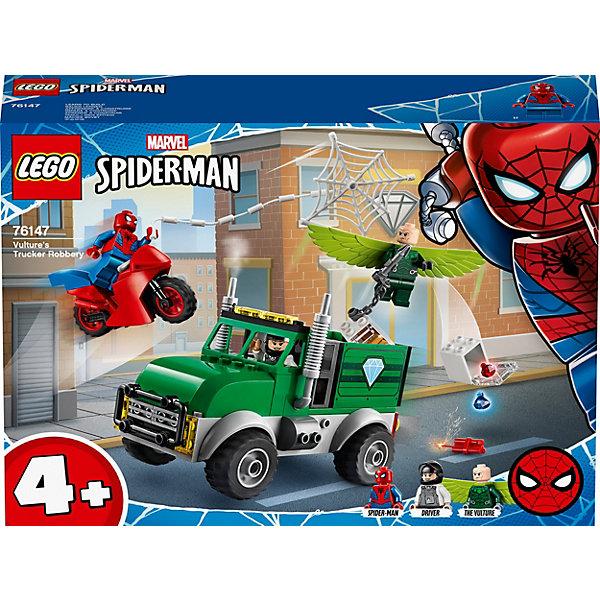 LEGO Конструктор LEGO Super Heroes 76147: Ограбление Стервятника конструктор lego dc super hero girls харли квинн спешит на помощь 41231