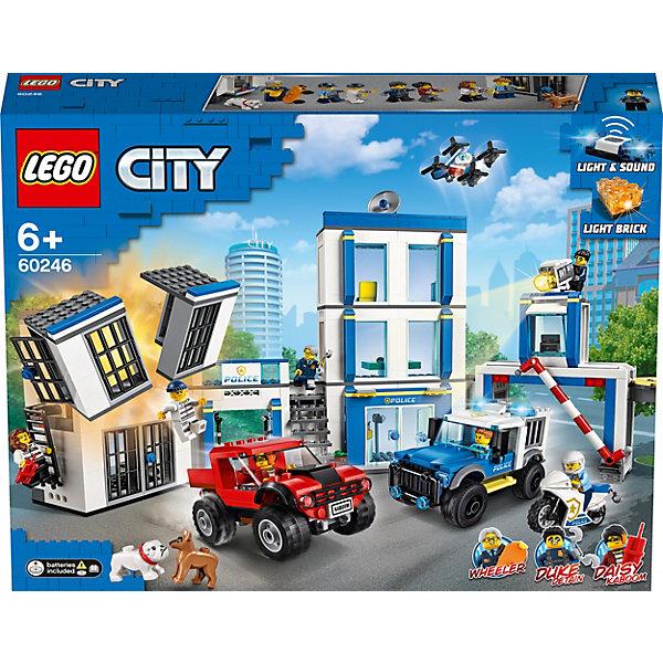 LEGO Конструктор City Police 60246: Полицейский участок