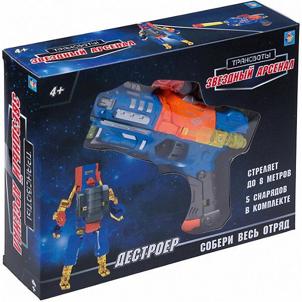 Купить Оружие 1Toy Трансботы Звёздный арсенал: Дестройер , Китай, разноцветный, Мужской