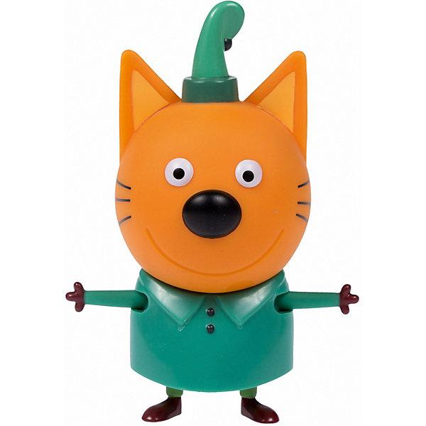 """1Toy Фигурка 1Toy """"Три кота: Компот"""", с аксессуаром, 7,6 см"""