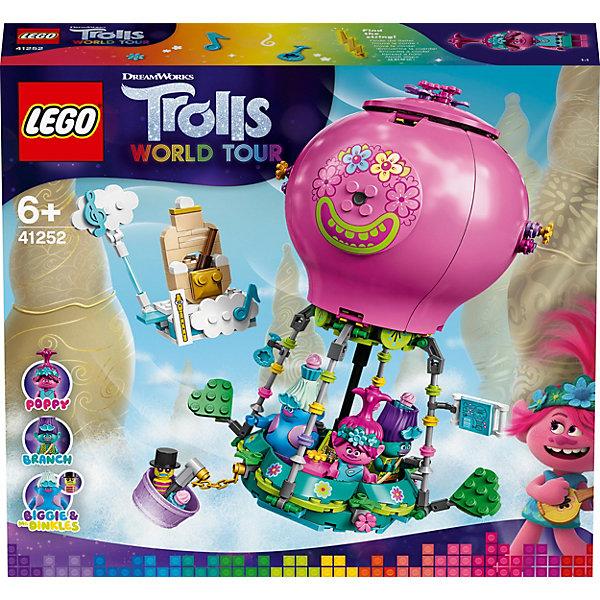 Конструктор LEGO Trolls 41252: Путешествие Розочки на воздушном шаре