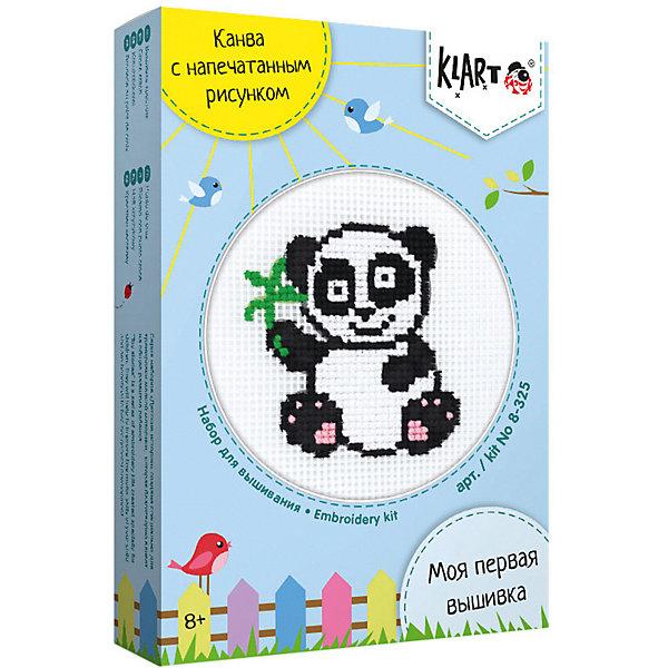 Klart Набор для вышивания Klart Детские истории. Панда канва с рисунком для вышивания матренин посад тихий вечер 18 х 29 см