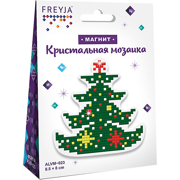 Купить Кристальная мозаика Фрея магнит Елочка , Россия, Унисекс