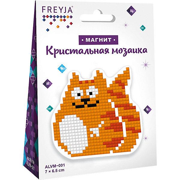 Купить Кристальная мозаика Фрея магнит Котик , Россия, Унисекс