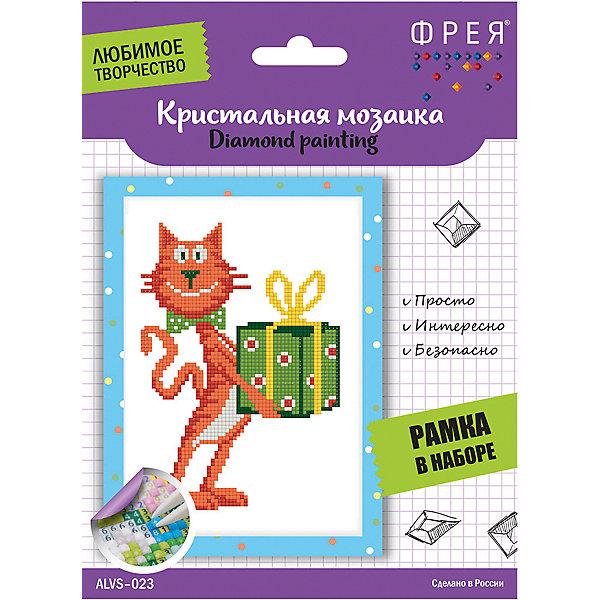 Купить Кристальная мозаика Фрея Кот с подарком , Россия, Унисекс