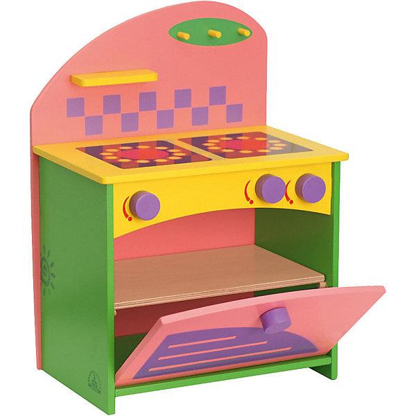 Набор кукольной мебели КРАСНОКАМСКАЯ ИГРУШКА Газовая плита, Краснокамская игрушка, Россия, Унисекс  - купить со скидкой