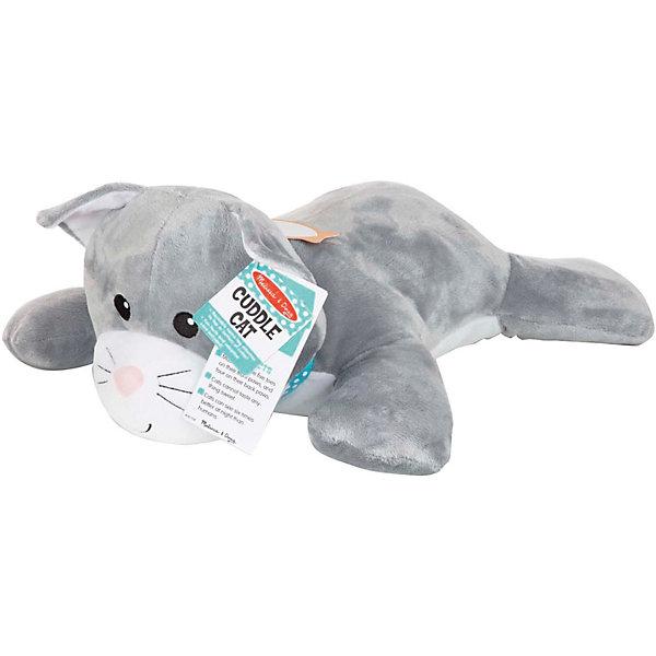 Купить Мягкая игрушка-подушка Melissa&Doug Кошка, Melissa & Doug, Китай, разноцветный, Унисекс