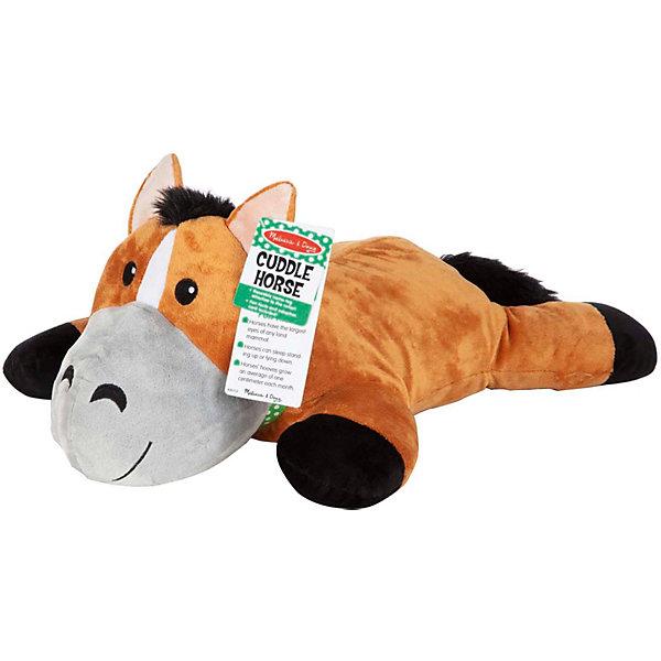 Купить Мягкая игрушка-подушка Melissa&Doug Лошадь, Melissa & Doug, Китай, разноцветный, Унисекс
