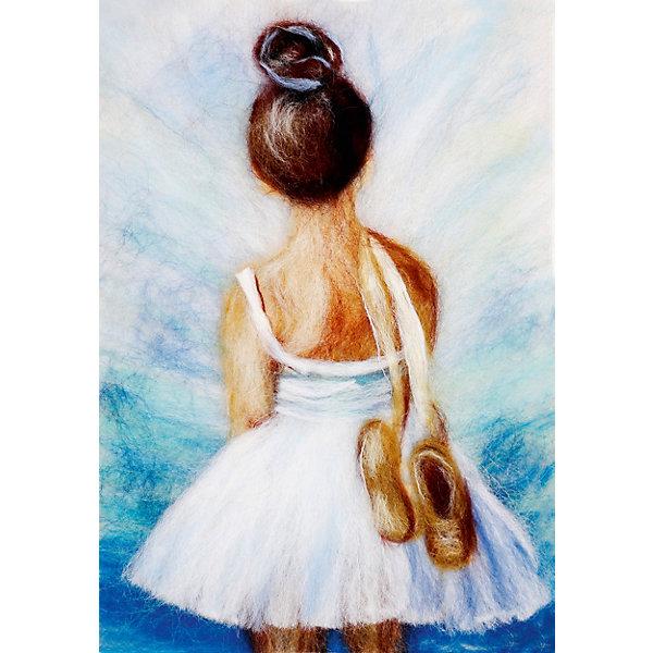 Цветной Набор для валяния Маленькая балерина