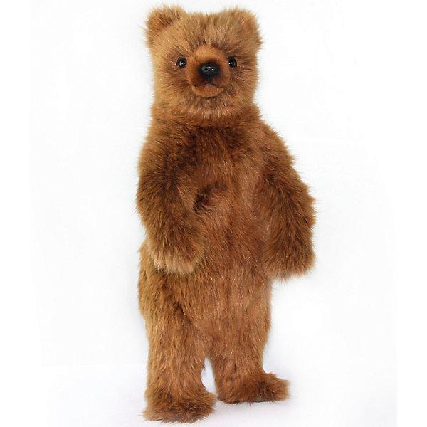 Hansa Мягкая игрушка Медведь гризли стоящий, 40 см