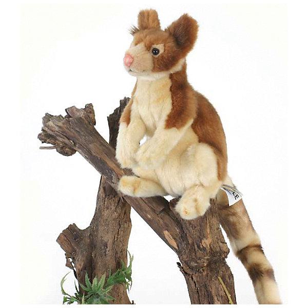 Hansa Мягкая игрушка Hansa Древесный кенгуру, 23 см мягкая игрушка лебедь hansa 4084 искусственный мех черный 45 см