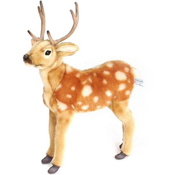 Hansa Мягкая игрушка Пятнистый олененок, 35 см