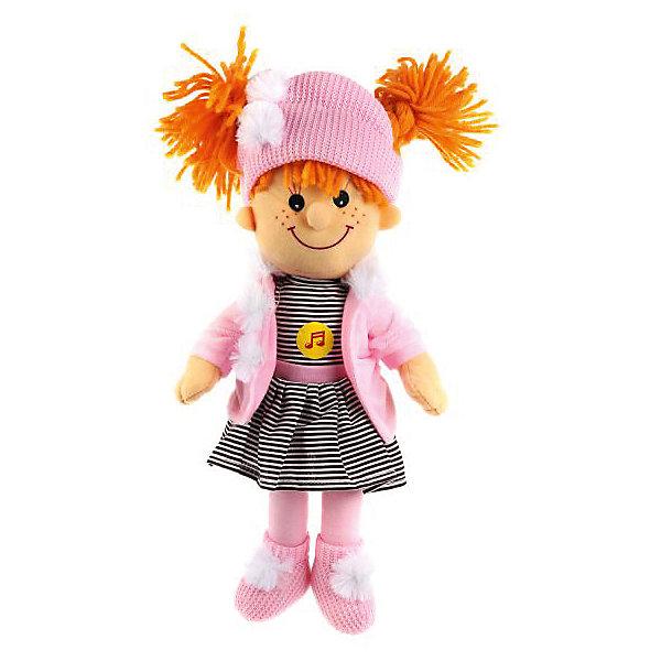 Мульти-Пульти Мягкая игрушка Мульти-Пульти Кукла в сине-розовом, 35 см мягкая игрушка мульти пульти мягкая кукла 5 песенок и 2 стихотворения а барто 45 см