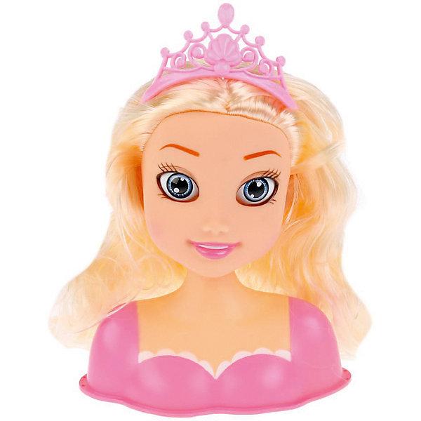 Фото - Карапуз Кукла-манекен для создания причесок Карапуз Принцесса, с аксессуарами кукла манекен карапуз с набором косметики и аксесс д волос в ассорт в русс кор в кop 24шт