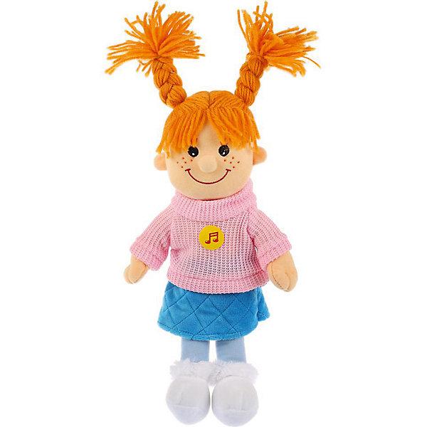 Мульти-Пульти Мягкая игрушка Мульти-Пульти Кукла в розово-голубом, 35 см кукла наша игрушка кукла 35 см мягкая